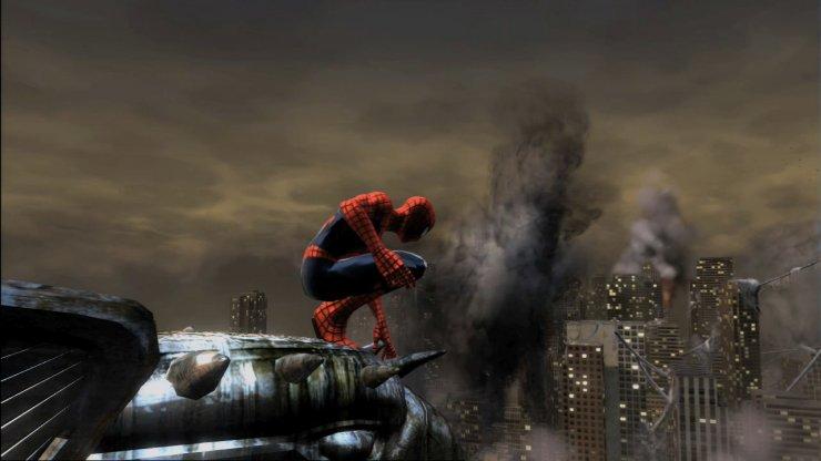 Spider Man Web Shadows