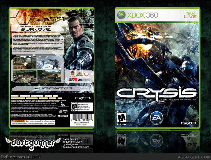 Original Crysis Confirmed For Xbox 360 Too Much Gaming